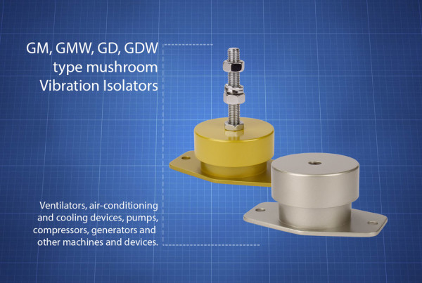 GM-GMW-GD-GDW-muchrom-type-vibration-isolators