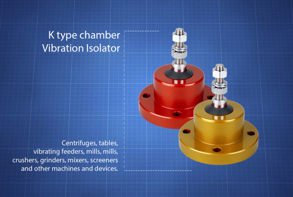 K-type-chamber-vibration-isolators
