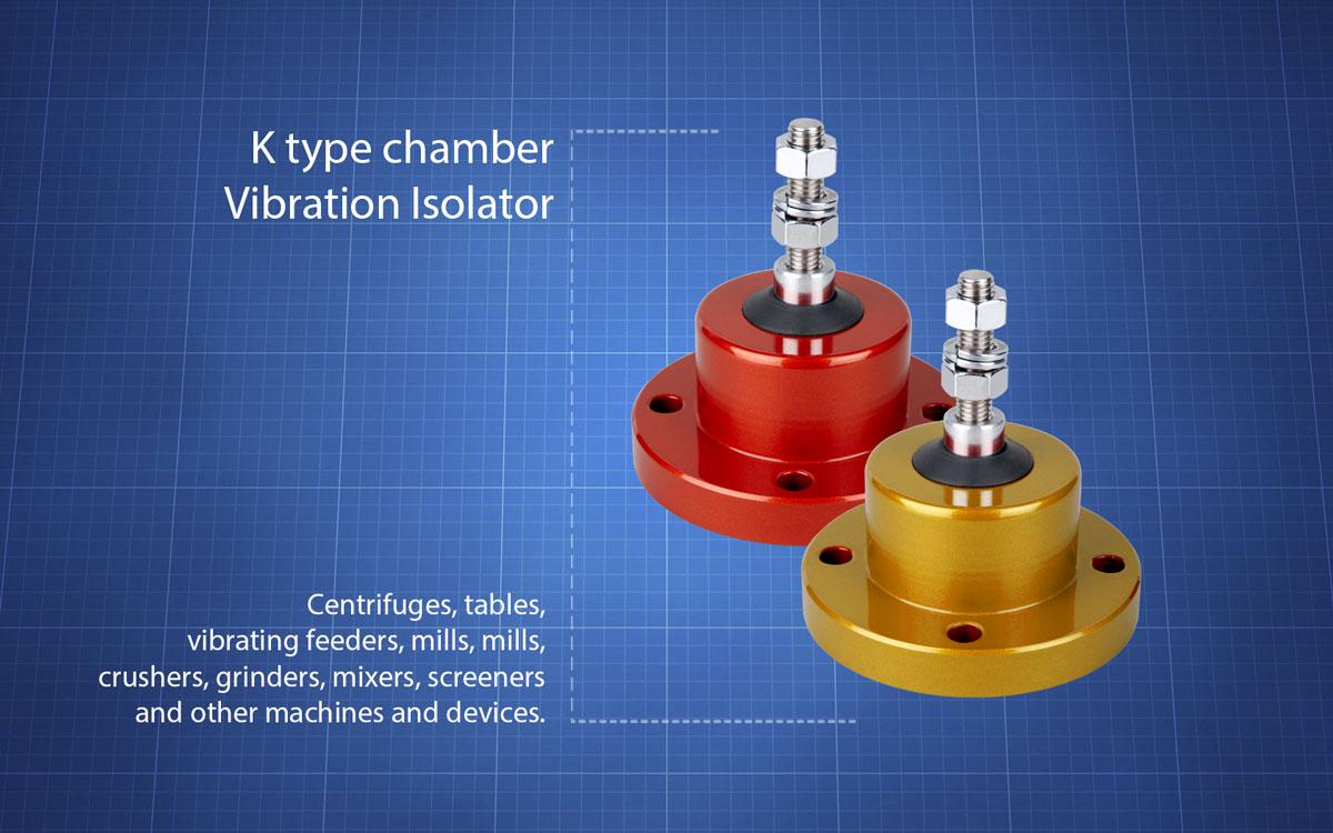 K-type-chamber-vibration-isolators
