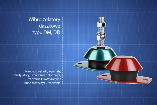 Wibroizolatory DM, DD