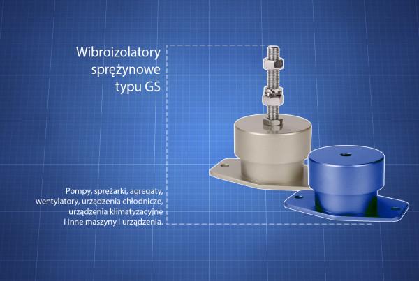 Wibroizolatory GS