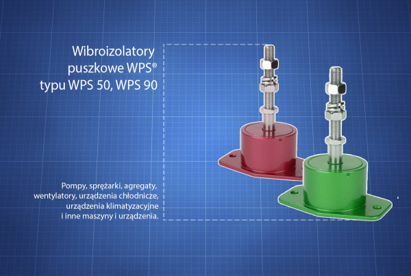 Wibroizolatory WPS