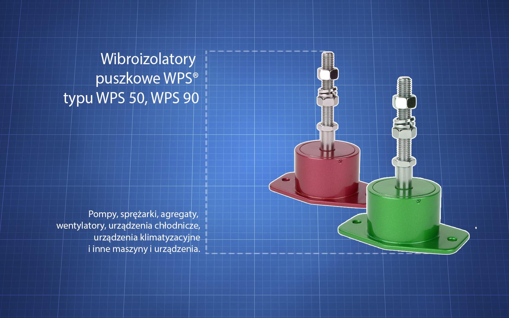 Wibroizolatory WPS
