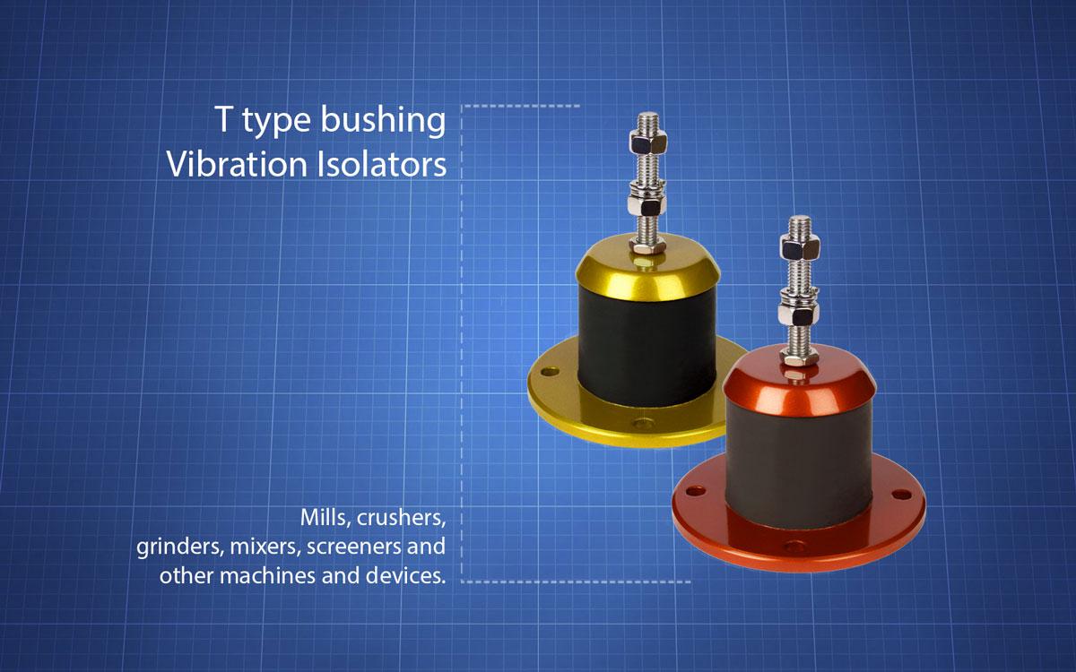 t-type-bushing-vibration-isolators