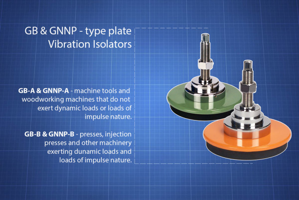 GB & GNNP type Vibration Isolators