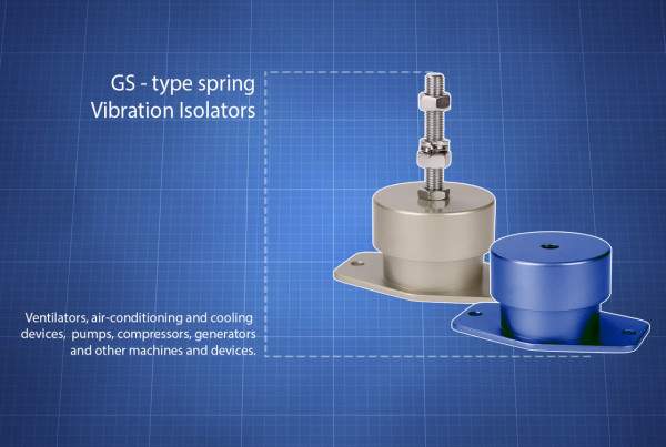 GS type Vibration Isolators