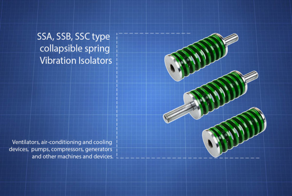 SSA, SSB,SSC-type Vibration Isolators