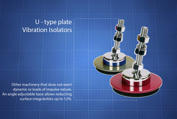 U-type Vibration Isolators